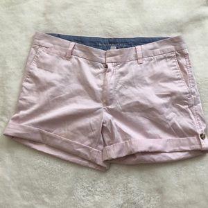 Pale Pink Banana republic shorts